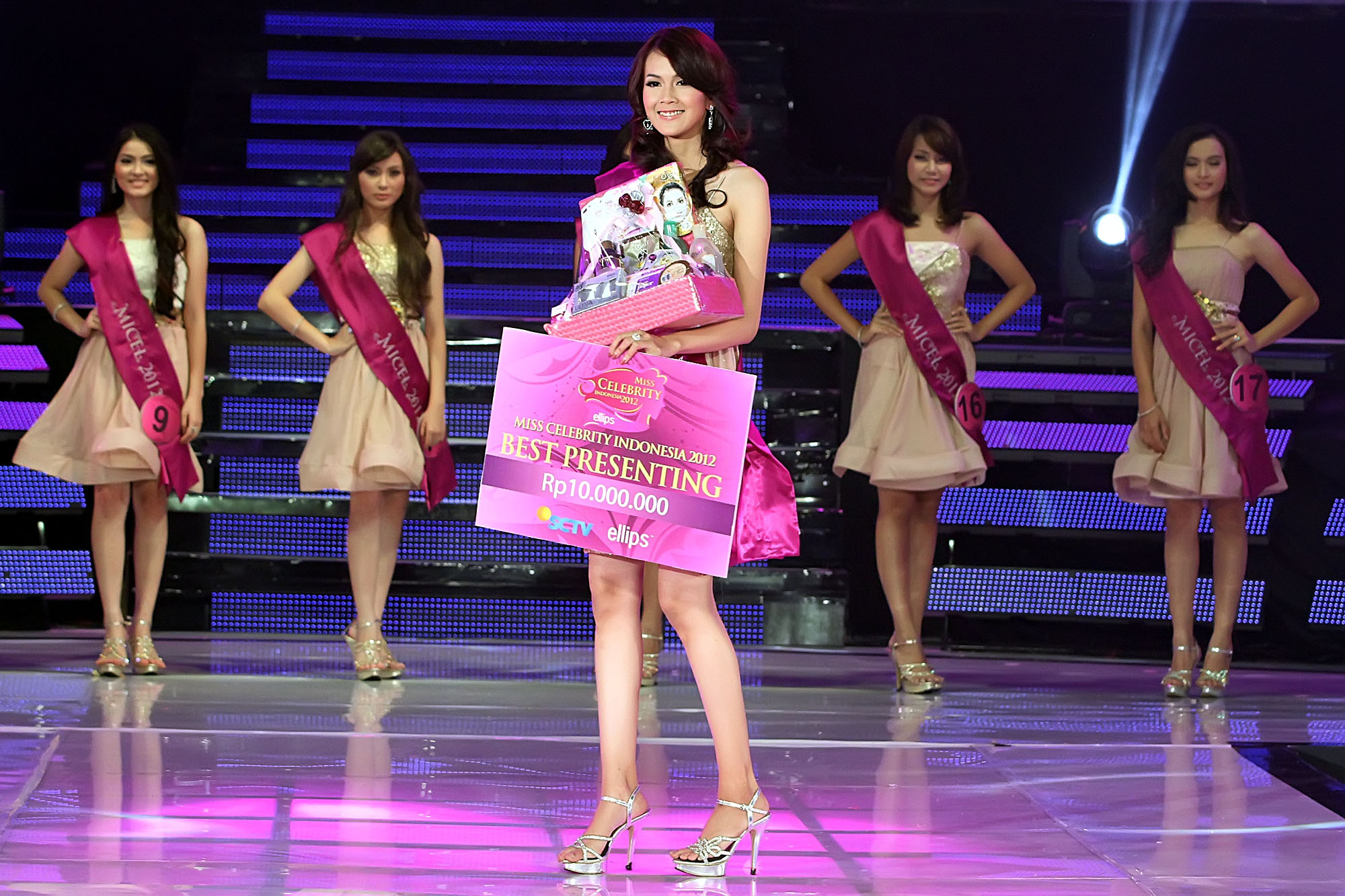 Pemenang Miss Celebrity Indonesia 2011, Sirena Elizabeth ...