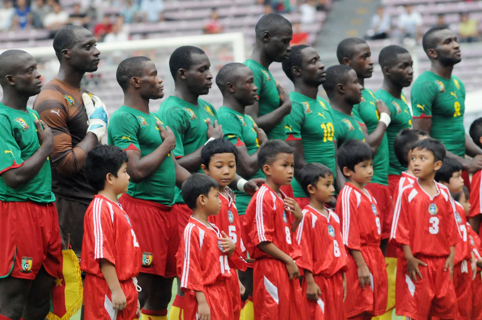 Timnas Cameroon  Jejaki Medan